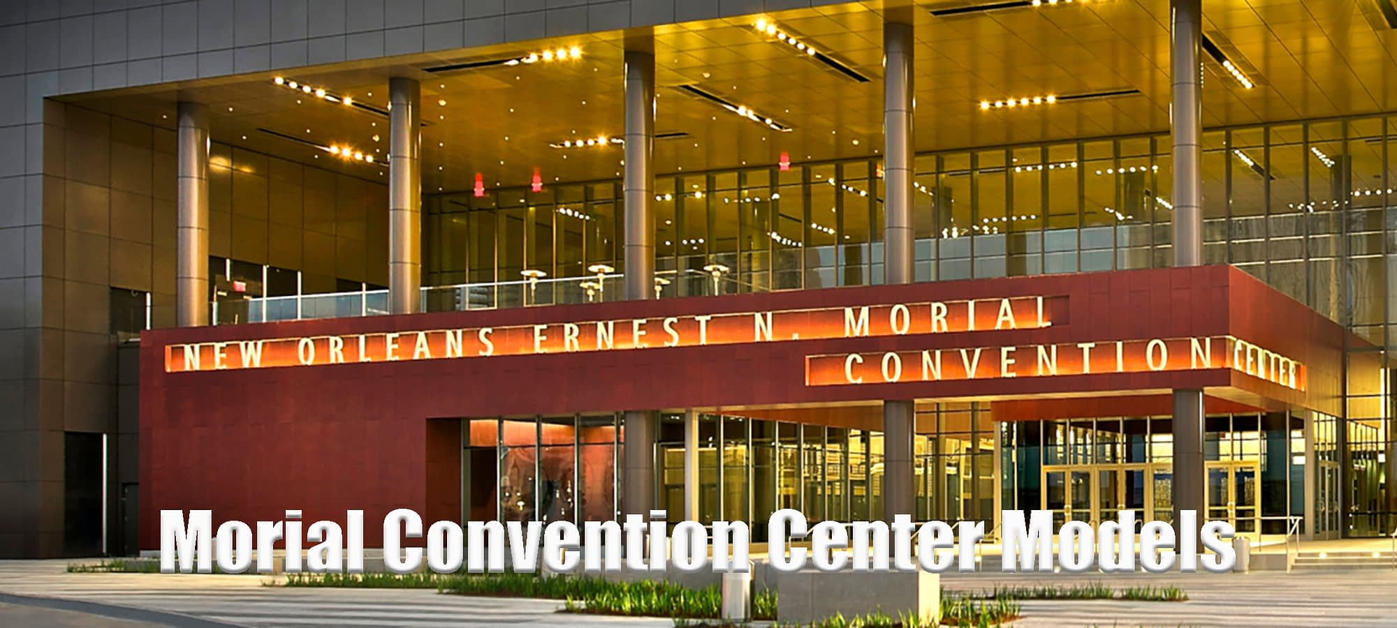 Morial Convention Center Models